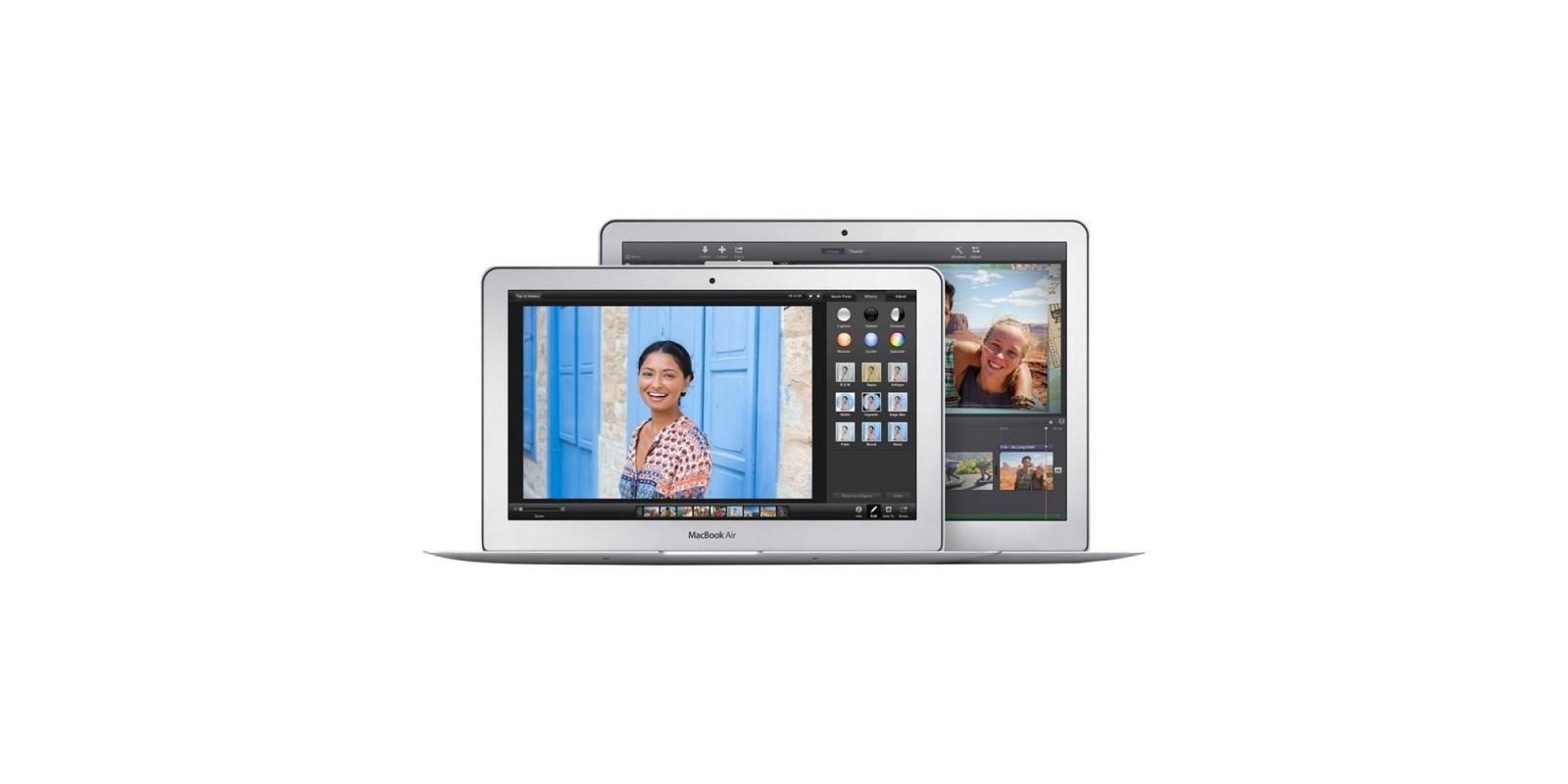 Apple MacBook Air MJVE2LL Sizes