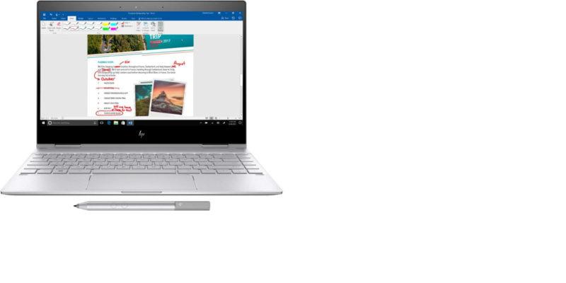 Premium 2019 HP Spectre X360 13.3 Laptop Form