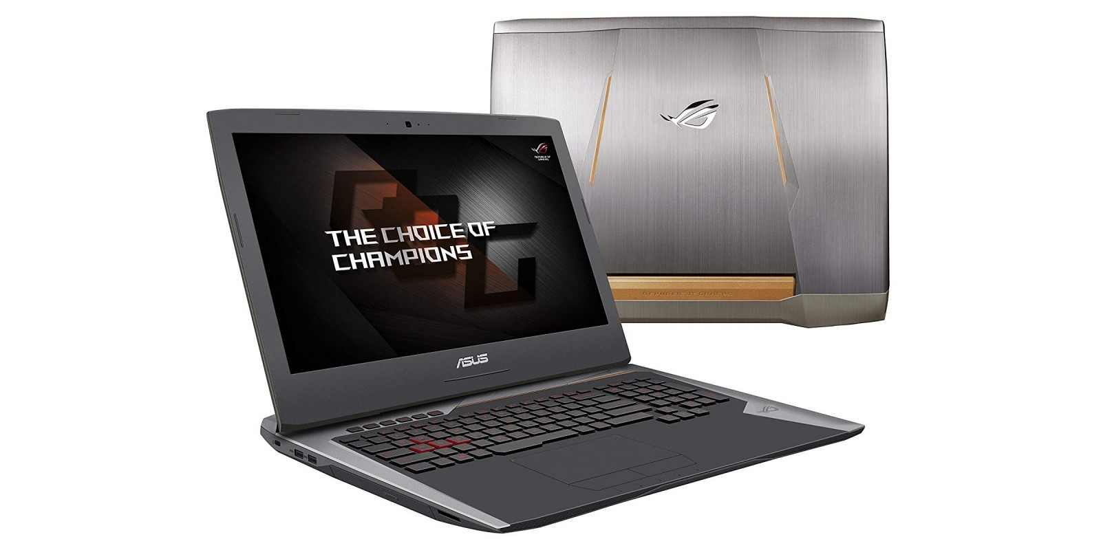 ASUS ROG G752VY-DH72 17-Inch Gaming Laptop Champion