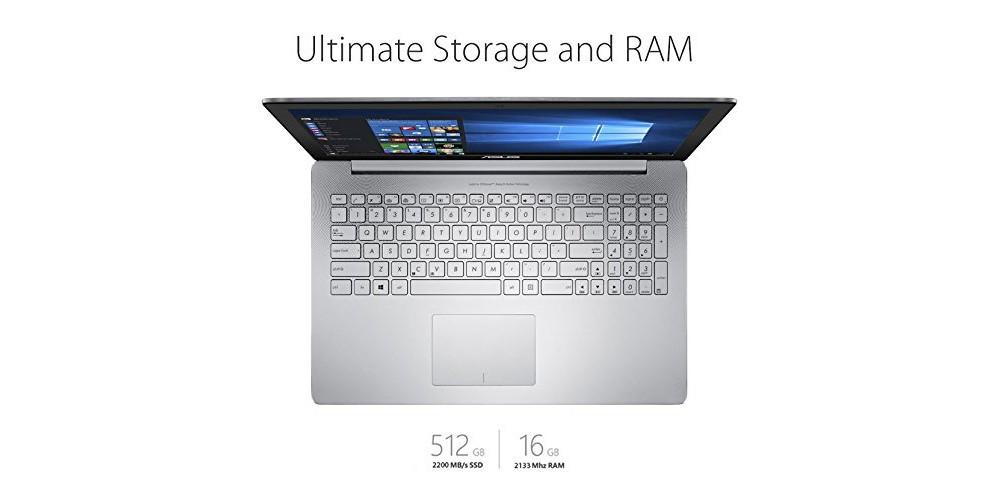 ASUS ZenBook Pro UX501VW-US71 15.6-Inch Storage