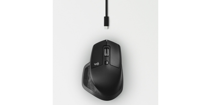 Logitech MX Master 2S Wireless Mouse Wire