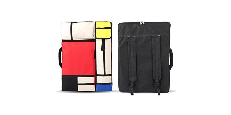 Betwoo Art Portfolio Case Bag – Front Back