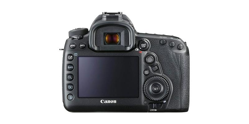 Canon EOS 5D Mark IV Full Frame Digital SLR Front