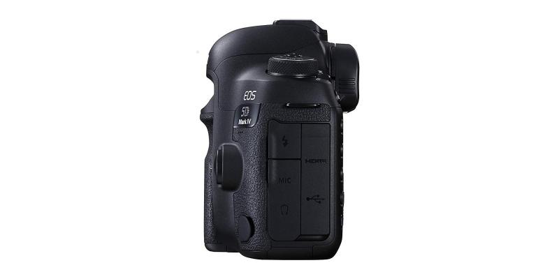 Canon EOS 5D Mark IV Full Frame Digital SLR Ports