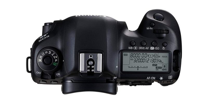 Canon EOS 5D Mark IV Full Frame Digital SLR Top
