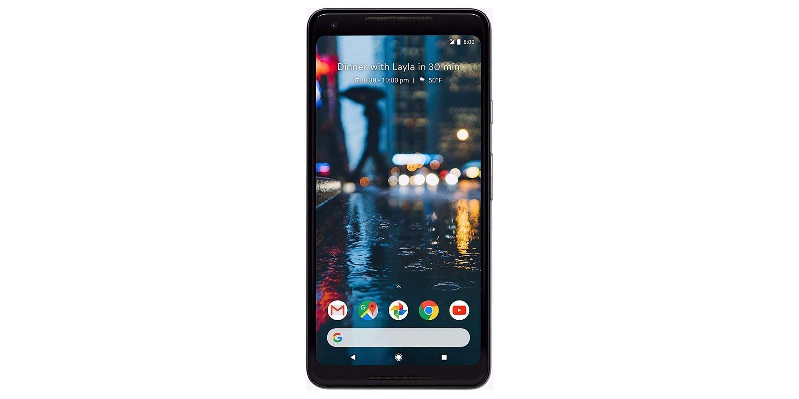 Google Pixel 2 XL 64 GB, Black (Refurbished) Main