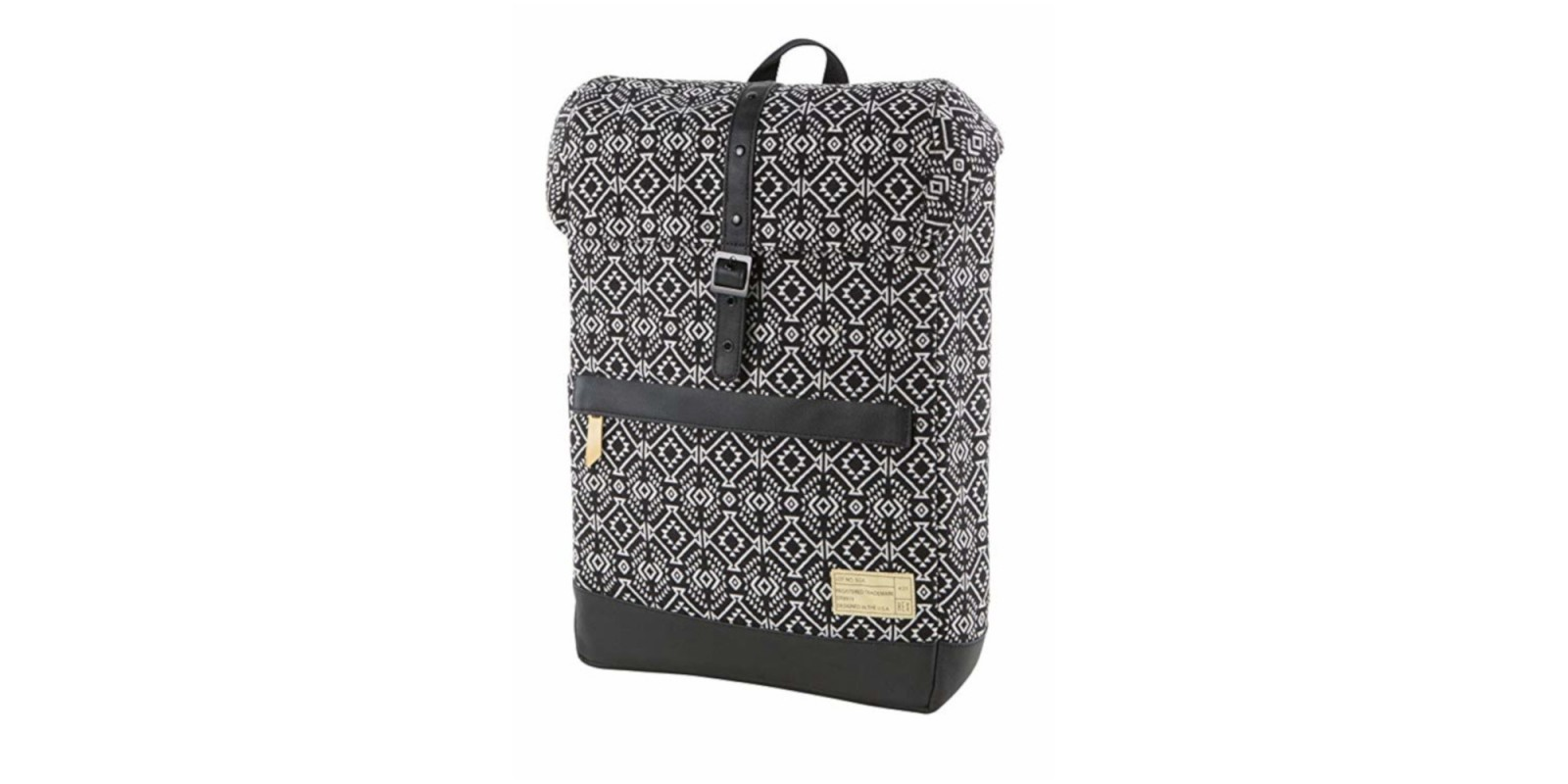 HEX Alliance Backpack – Black and White