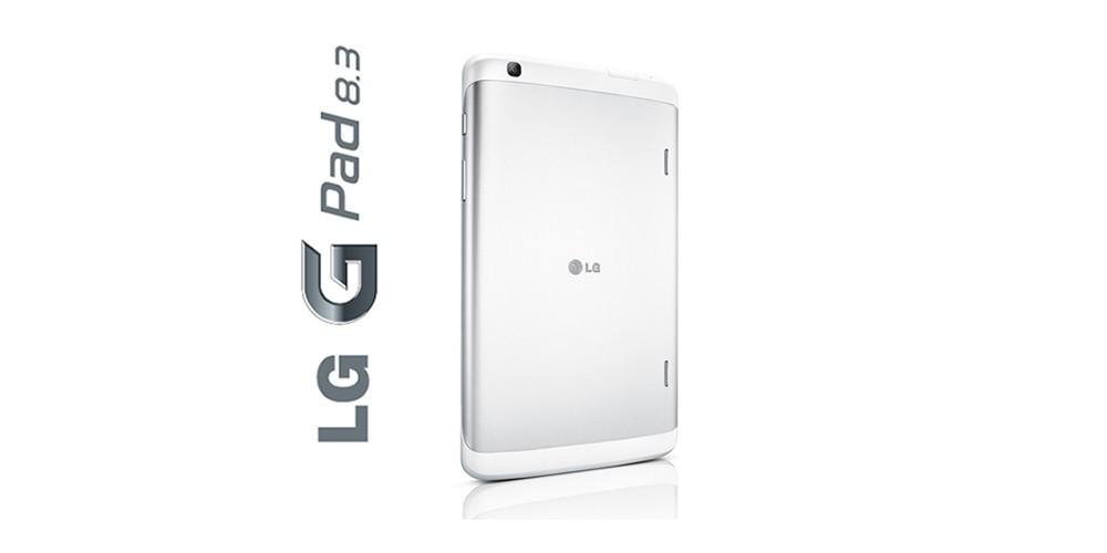 LG G Pad 8.3 Google Play edition – Back