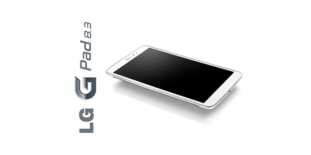 LG G Pad 8.3 Google Play edition – Bottom Up