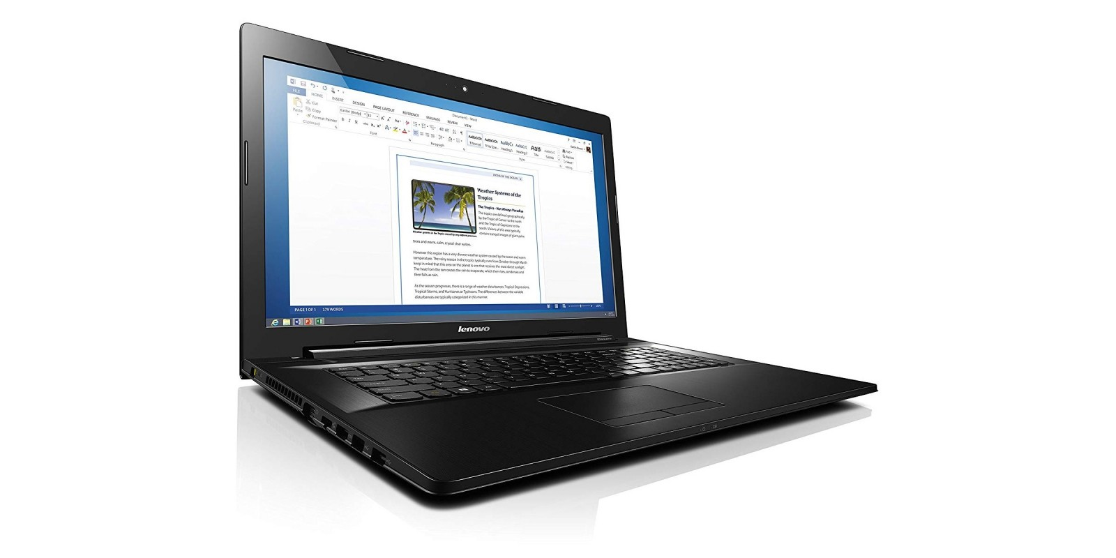 Lenovo Z70 80FG00DBUS 17.3 Inch – Side Left