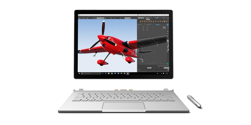 Microsoft Surface Book – Detach
