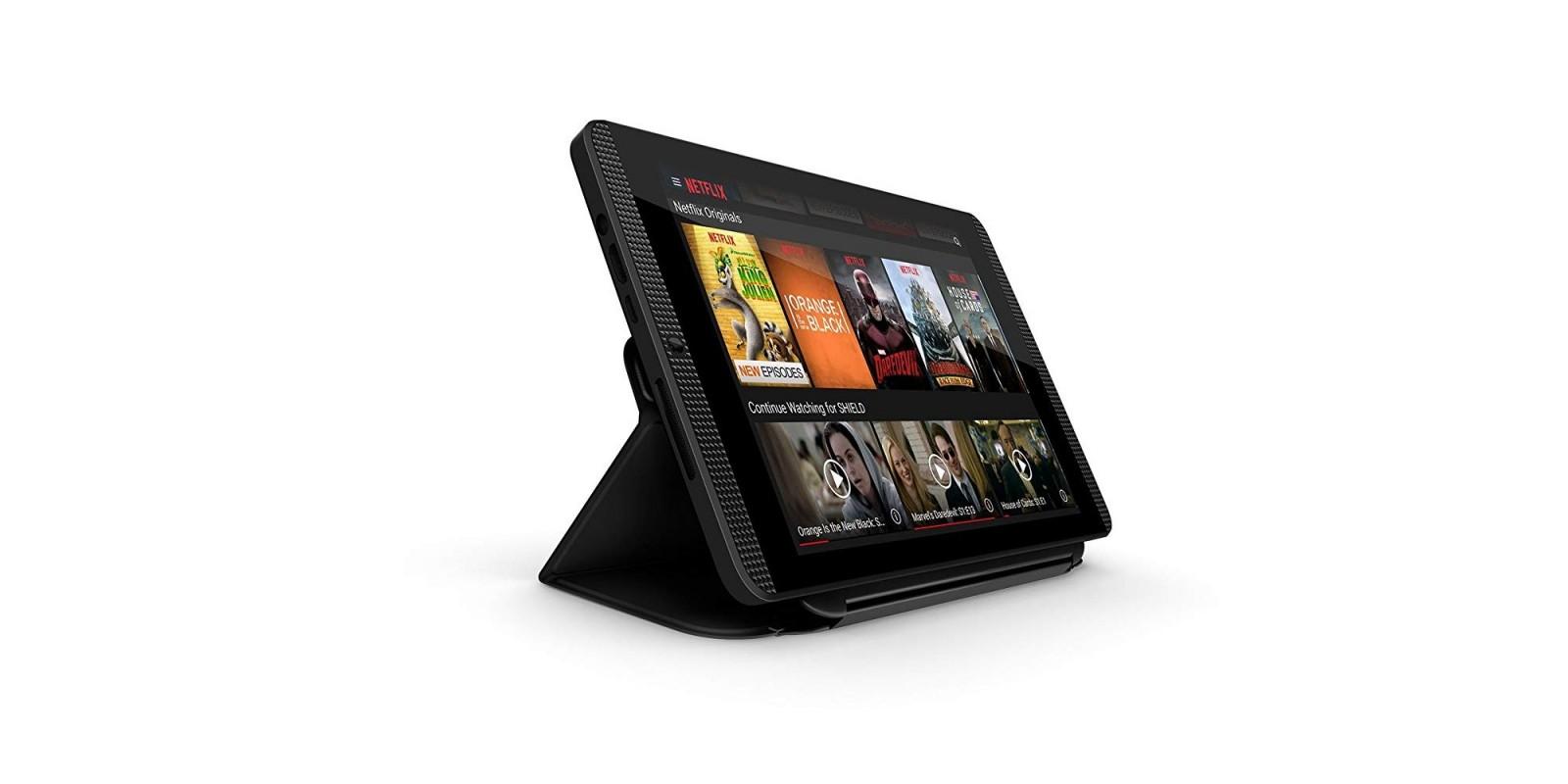 NVIDIA SHIELD K1 8-inch Tablet (Black) – Side