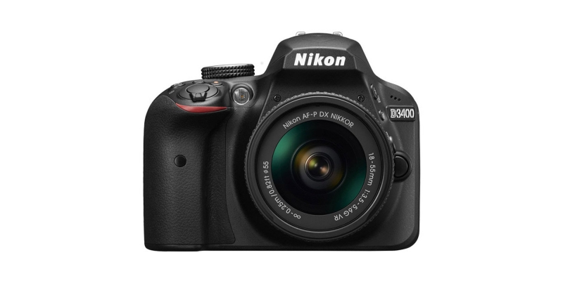 Nikon D3400 24.2 MP DSLR Camera Lens