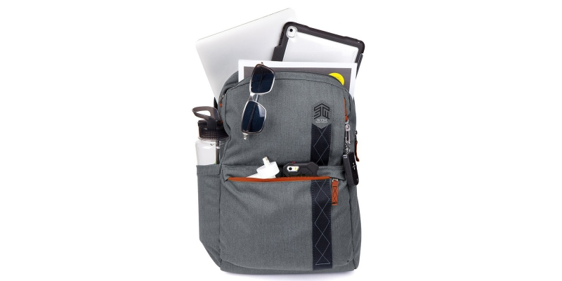 STM Banks Backpack for Laptop & Tablet Up to 15 Full