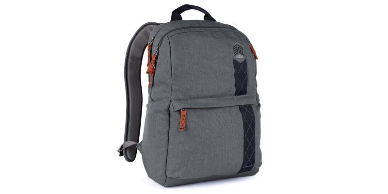 STM Banks Backpack for Laptop & Tablet Up to 15 Side
