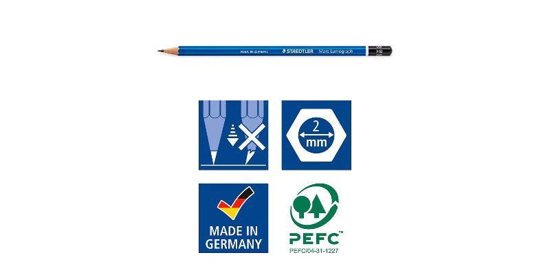 General Pencil Peel & Sketch Charcoal Pencils 5