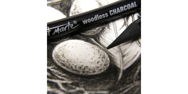 Mont Marte Woodless Charcoal Pencils 5