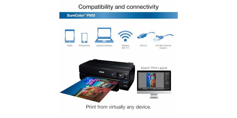 Epson SureColor P800 Inkjet Printer4