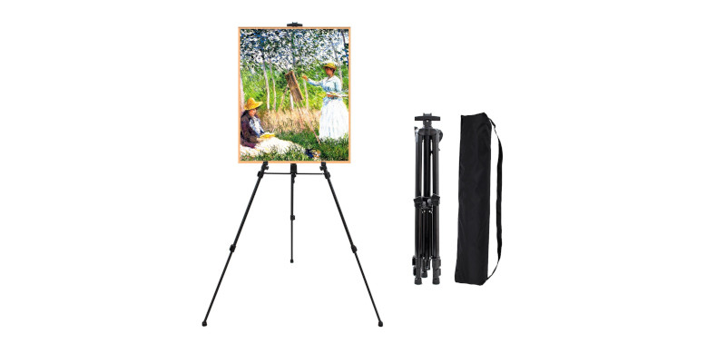"FineColour's 63"" Art Tripod Painting Easel Stand1"