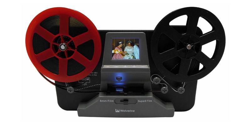 Wolverine 8mm and Super 8 Film Reel Converter Scanner1
